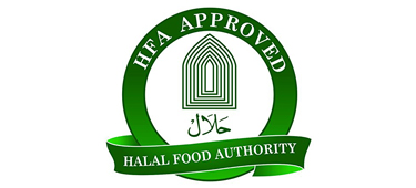 Vydex HFA Approved Halal Food Authority Logo